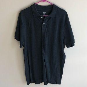 💜 Old Navy Men's Polo Shirt XL Black